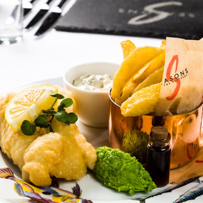 gourmet fish and chips